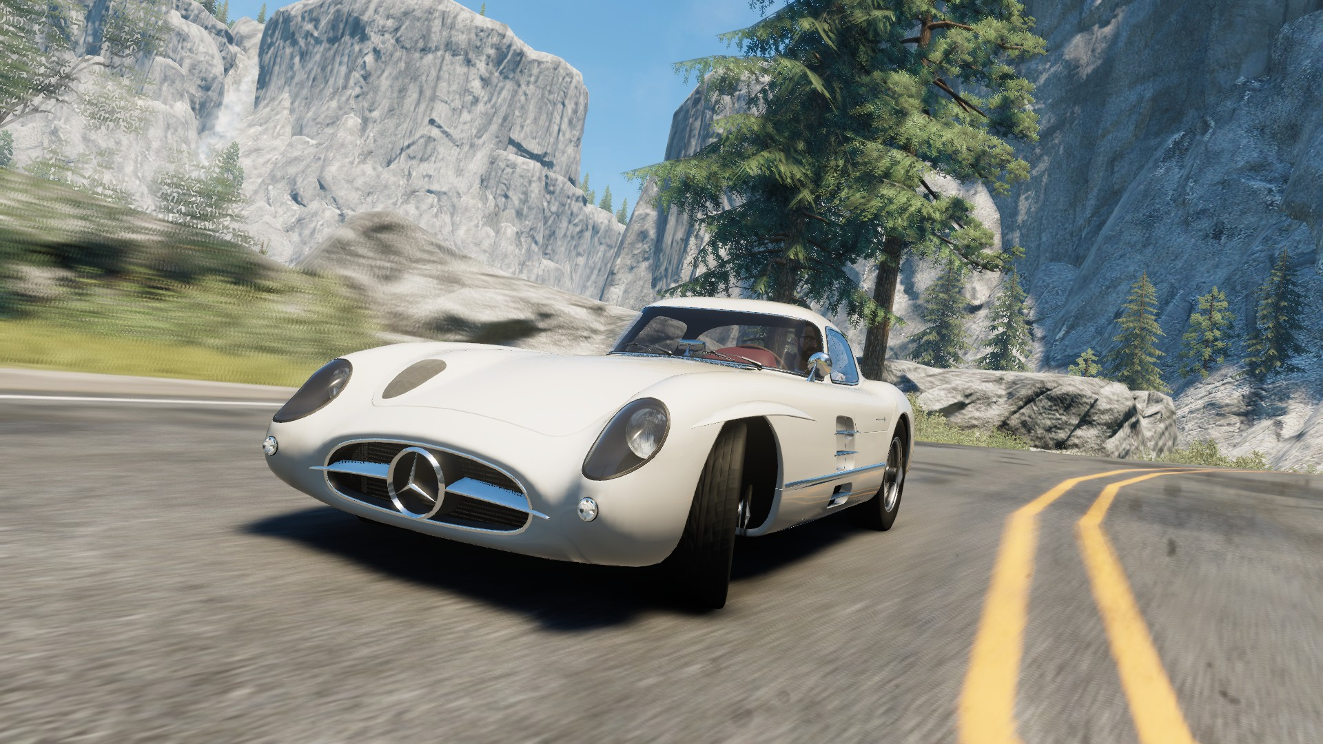 Mercedes benz 300 slr uhlenhaut coup w196 the crew for Mercedes benz 300 slr
