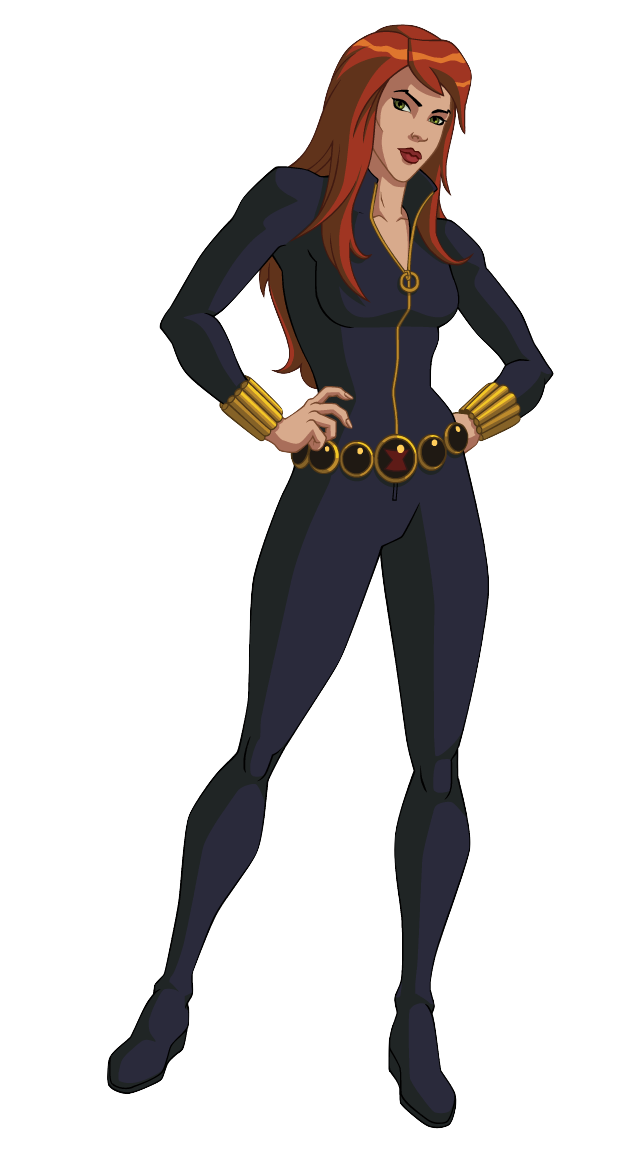 Ultimate spider man black widow