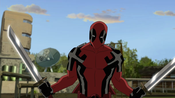 Images: Ultimate Spider Man Tv Series Deadpool