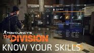 Tom Clancy's The Division - Know your Skills UK