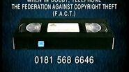 20th Century Fox Home Entertainment Video Piracy Warning (1996, UK)
