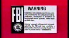 Walt Disney Warning Screen 1983-1984