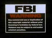 LionsGate FBI Warning Screen 1