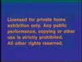 CBS-FOX Video Australian Piracy Warning (1989) Beta cassette