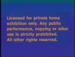 CBS-FOX Video Australian Piracy Warning (1989) Beta cassette