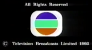 1993 - TVB International Limited Copyright Screen in English