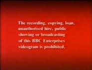 BBC Video Warning (1988) (WHSmith Variant) (Closing)