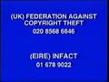 Walt Disney Home Video Piracy Warning (2001)