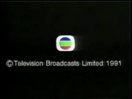 1991 TVB Copyright In English