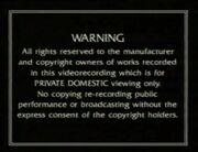 Thames Video Warning 1991