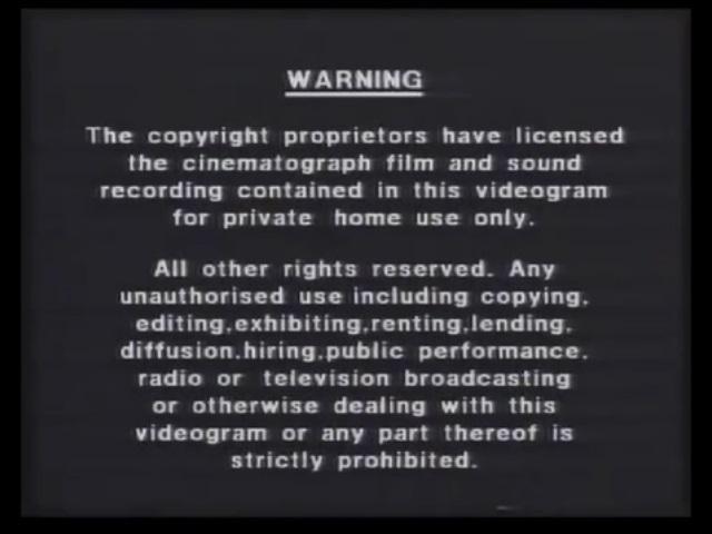 polygram video warning screen the fbi warning screens fbi anti piracy warning fbi anti piracy warning disney