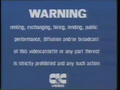 CIC Video Warning (1986) (S3)