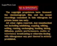 1995 TVB International Limited Warning Screen in English