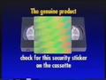 Walt Disney Home Video Piracy Warning (1995) Hologram (Version 2)