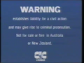 CIC Video Warning (1986) (S4)