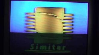 Simitar website(gone forever),tracking control,simitar 90's logo,warning screen