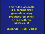 MGM Home Entertainment UK Warning 4a