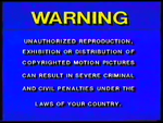 RCA-Columbia Pictures-Hoyts Video Piracy Warning (1985) VHS cassette