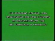 BBC Video Warning (1980s) (BeebTots Variant)