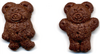 Chocolate teddy grahams