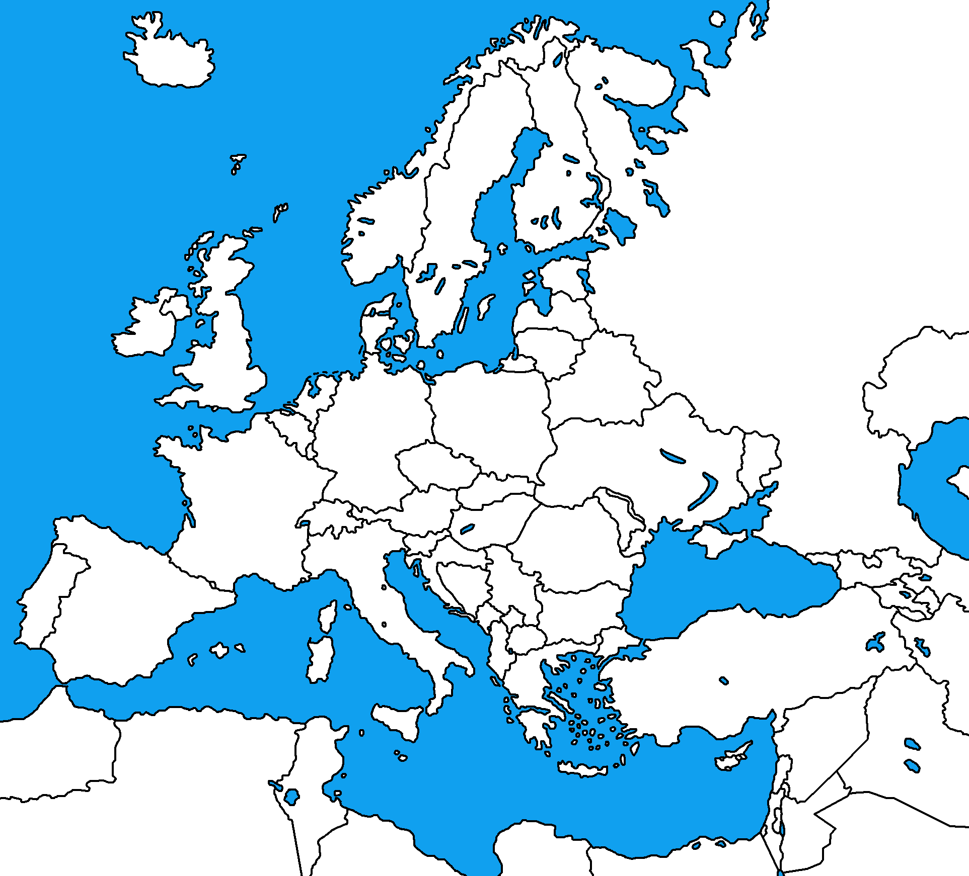 Image Blank Map Of Europepng TheFutureOfEuropes Wiki FANDOM - Europe blank map