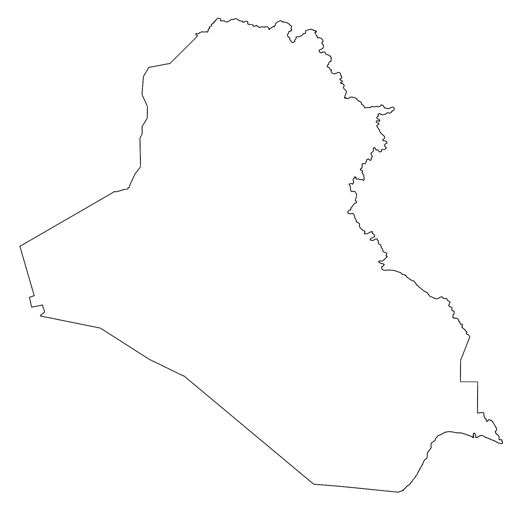 Image Blank Map of Iraqpng TheFutureOfEuropes Wiki – Map If Iraq