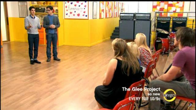 The Glee Project 2x09 Darren Criss as Guest Mentor