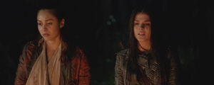 The-100-season-3-episode-12 (Demons) -Raven & Octavia