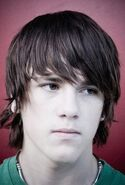 Teen men hairstyle with long bangs fashion hairstyle