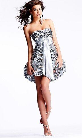 File:Short-Strapless-Sequin-Covered-Dress-1-.jpg
