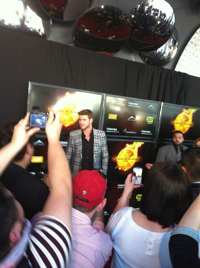 Hunger Games Premiere 2