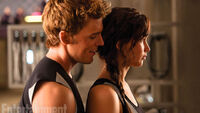 Finnick and Katniss