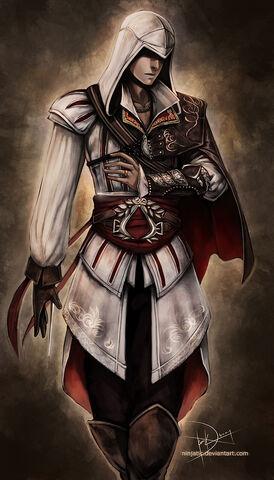 File:Ezio Assassins Creed 2 by Ninjatic.jpg
