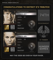 District 8 Tributes