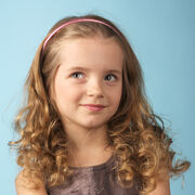 Curly-hair-with-headband mini