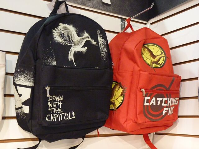 File:Catching fire backpack merchandise.jpg