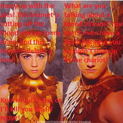 Cato and Clove complain and fight