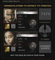 District 11 Tributes
