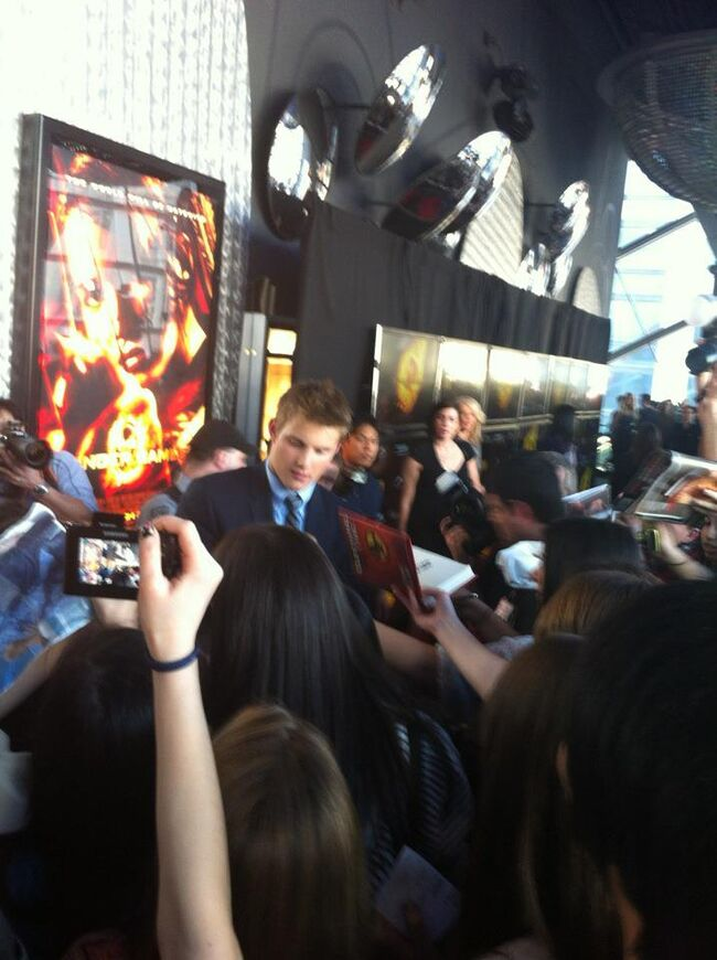Hunger Games Premiere 1