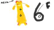 District 6 costume femla