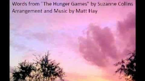 Rue's Lullaby (Hunger Games) Arranged by Matt Hay