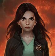 Katniss button