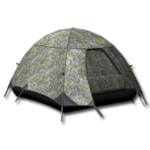 Large equipment tent alpine camouflage 256