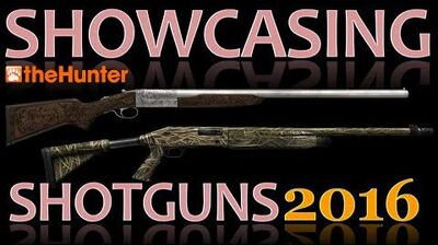 TheHunter Showcasing Shotguns 2016 (Animations, Sights & Sounds)