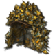 Ghillie hat fall forest