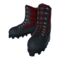 Arctic boots red