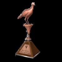 Trophy turkey bronze