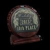 Holidays 2013 plaquet 10