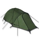 Large equipment heated tent forest
