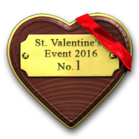 Valentine real competition 2016 gold
